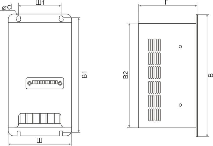 00053700 Тормозной модуль   Серия FCI  Модель FCI-BU-100 INSTART (Инстарт) 1